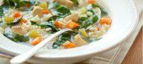 آموزش تهیه سوپ مرغ به همراه سبزیجات +رژیمی