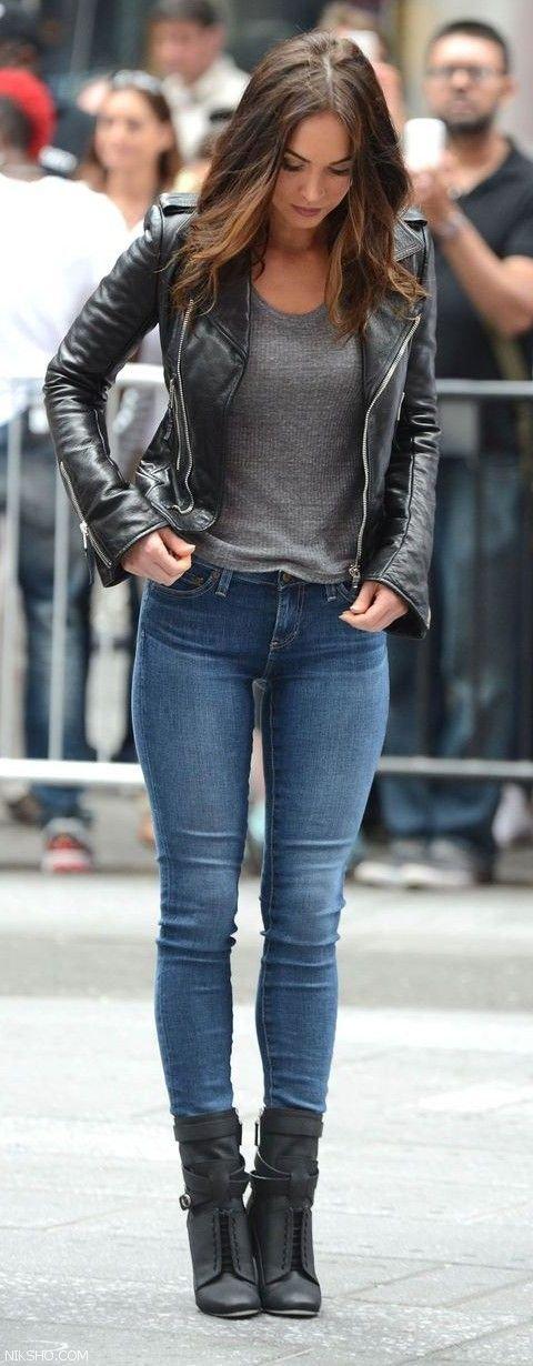 مدل شلوار جین اسکینی برای استایل های مختلف