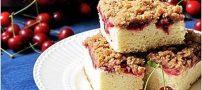 طرز تهیه کیک آلبالو تجربه یک عصرانه عالی