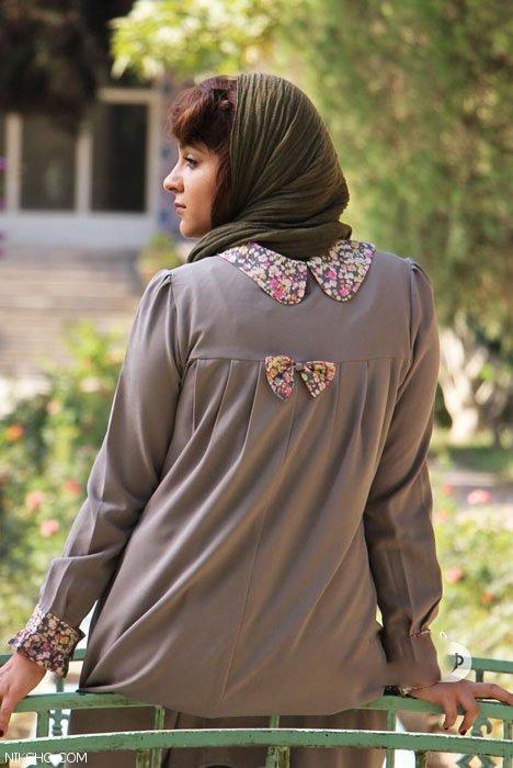 مدل مانتو سنتی طرح گلدار برند تن پوش