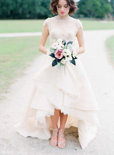 شیک ترین مدل های لباس عروس 2021