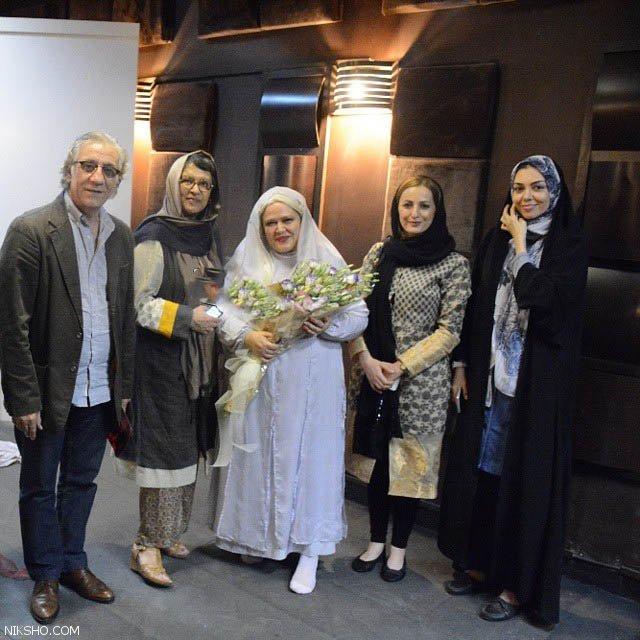 آزاده نامداری در جشن دومین ازدواج بهاره رهنما +عکس