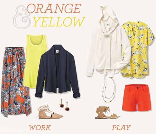 پیشنهاد بهترین ترکیب رنگ برای استایل تابستانی