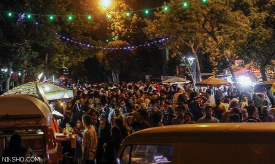 کافه گردی به سبک استریت در خیابان سی تیر تهران