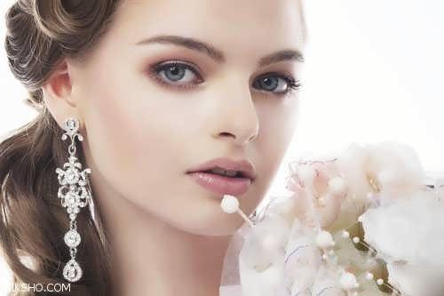 جدیدترین مدل های آرایش عروس اروپایی مد روز