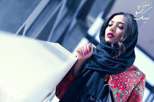بوسه عاشقانه اشکان خطیبی و همسرش آناهیتا درگاهی