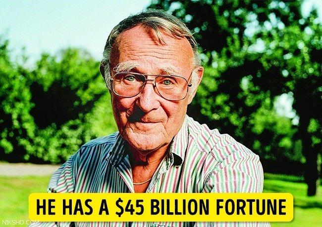 افراد ثروتمند که زندگی کاملا ساده ای دارند