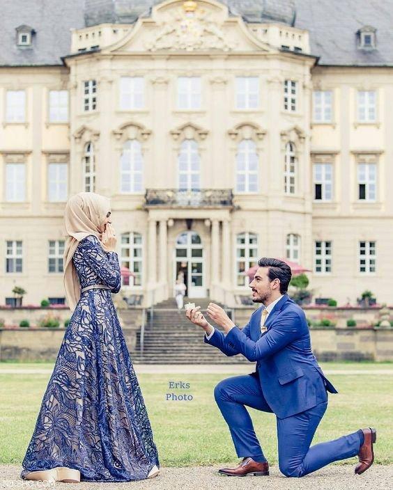 عکسهای عاشقانه تاپ زوج های باحجاب +شعر عاشقانه