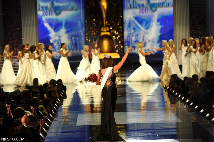 دختران جذاب آمریکایی در رقابت های ملکه زیبایی آمریکا
