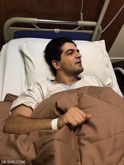 سینا شعبان خوانی در بیمارستان بستری شد