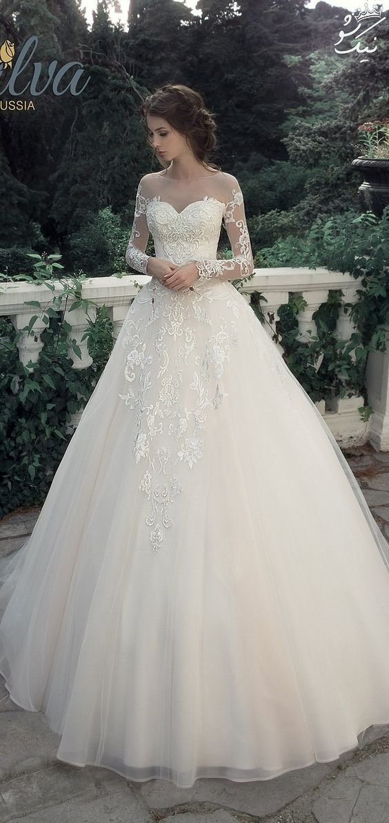 جدیدترین مدل لباس عروس گیپور مخصوص شیک پوش ها