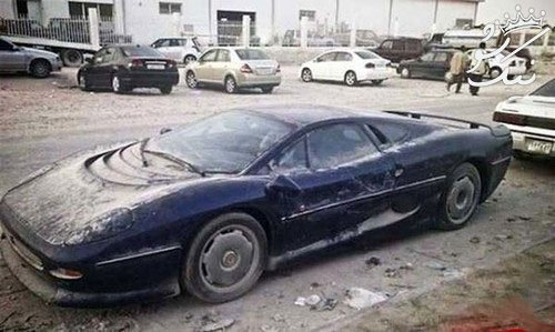 خودروهای سوپر لوکس که در دوبی رها شده اند