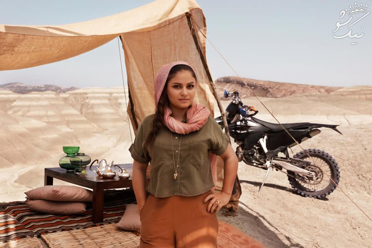 بهناز شفیعی دختر موتور سوار ایرانی زیبا و محبوب