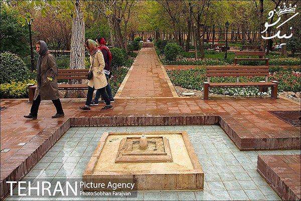 آدرس باغ ایرانی ده ونک، رویایی ترین باغ تهران +عکس