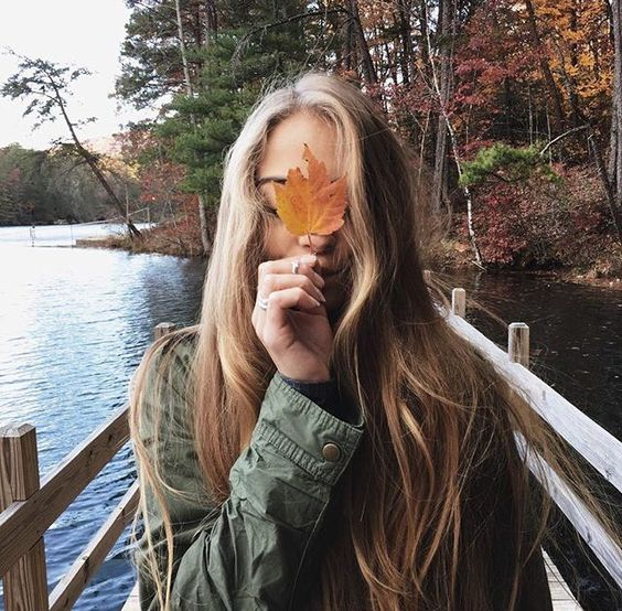 پروفایل پاییزی لاکچری دخترانه شیک و زیبا