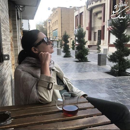 نورگل یشیلچای بازیگر ترکیه ای بی حجاب در ایران