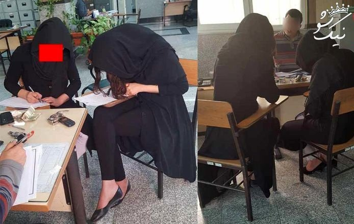 رابطه جنسی همزمان مردی با دو زن دوجنسه تهرانی +عکس