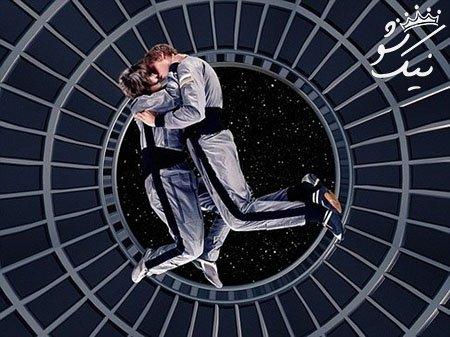 رابطه جنسی در فضا بین زنان و مردان آمریکایی