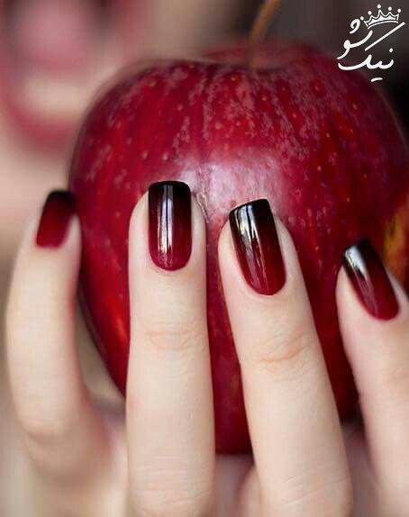 آرایش ناخن جذاب و داغ پاییزی +لاک ناخن پاییزی