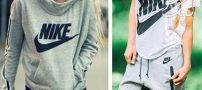 مدل های لباس اسپرت دخترانه از برند نایکی nike