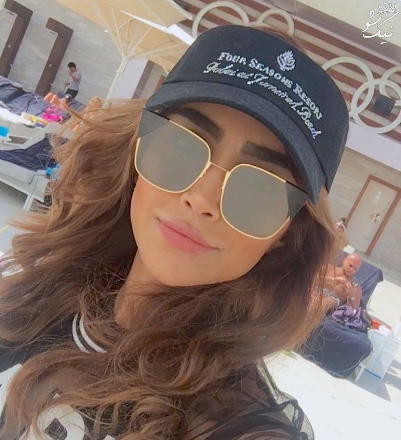 عکس های خفن الهام عرب مدلینگ ایرانی در دوبی