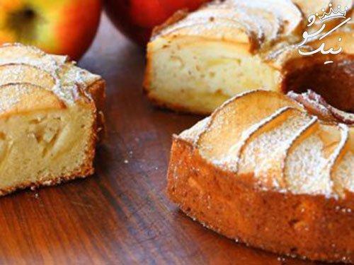 بهترین دستور تهیه کیک سیب بسیار خوشمزه