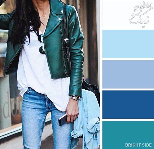پیشنهاد بهترین رنگ ها برای ست بهاری خانم های خوش تیپ