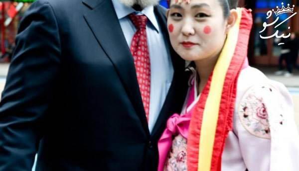 دختر جذابی که تا کنون 54 بار ازدواج کرده است +عکس