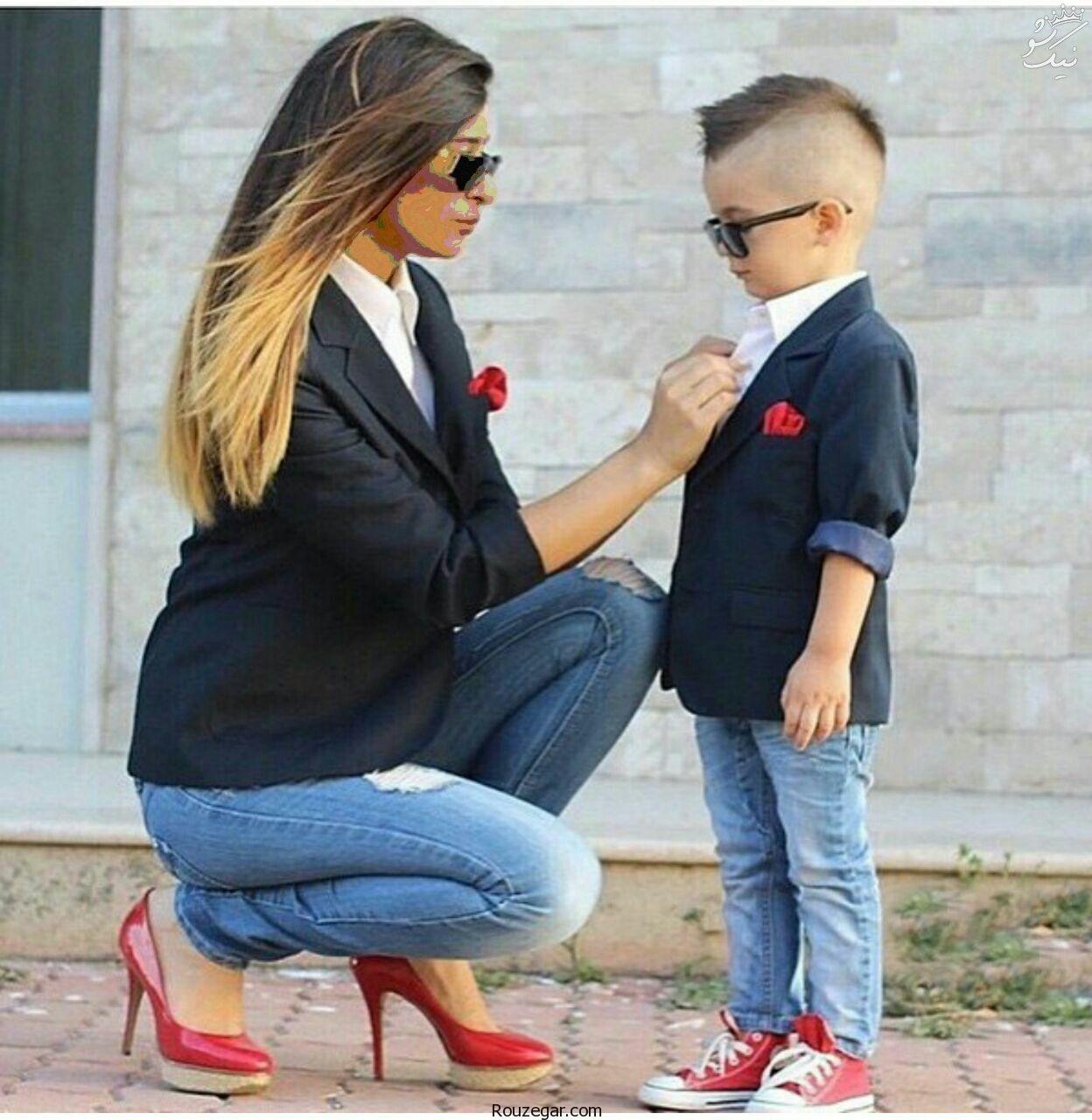 جذاب ترین ست لباس مادر و دختر شیک و دیدنی