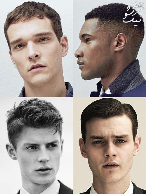 راهنمای انتخاب مدل موی مردانه بر اساس حالت چهره افراد