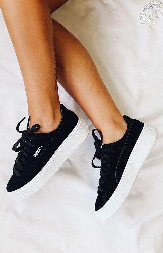 جذاب ترین مدل های کفش اسپرت دخترانه شیک