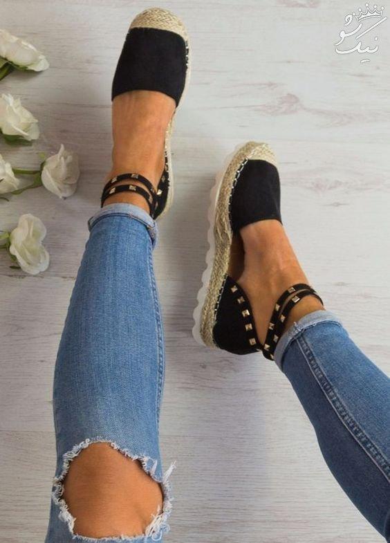 جدیدترین مدل های کفش زنانه بهاری +صندل زنانه شیک