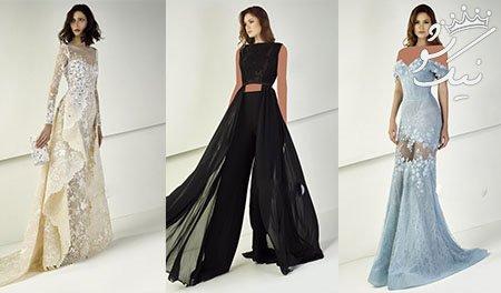 مدل های فوق العاده جذاب لباس مجلسی برند Tony Ward