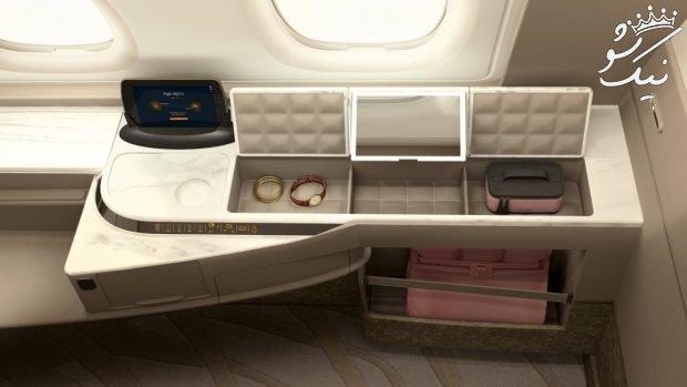 تصاویر دیدنی از داخل هواپیمای ایرباس ای 380
