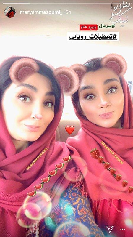 عکسهای داغ و جنجالی سلبریتی ها و چهره های ایرانی (47)