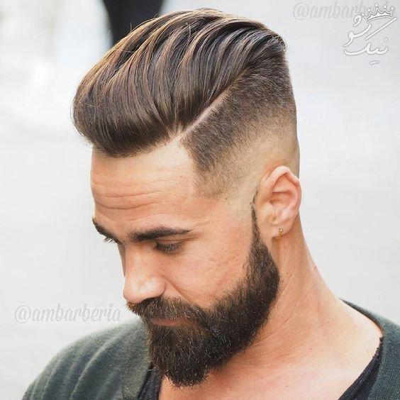 جدیدترین مدل های مو مردانه +مدل ریش و ته ریش مردانه (2)