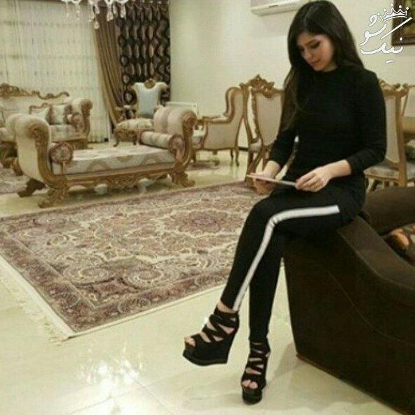 عکسهای نیلوفر بهبودی مدل زیبای ایرانی در اینستاگرام