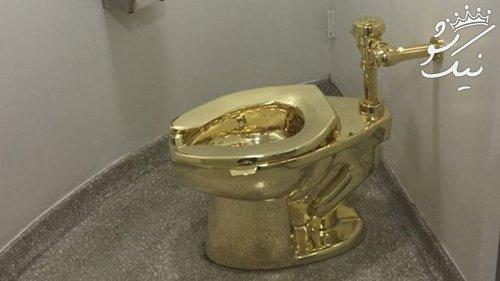 ترامپ نقاشی ونگوگ را خواست اما توالت طلا به وی پیشنهاد شد