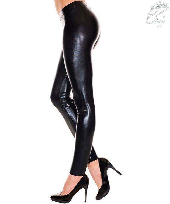 مدل شلوار چرم زنانه +لگ زنانه چرم جذاب