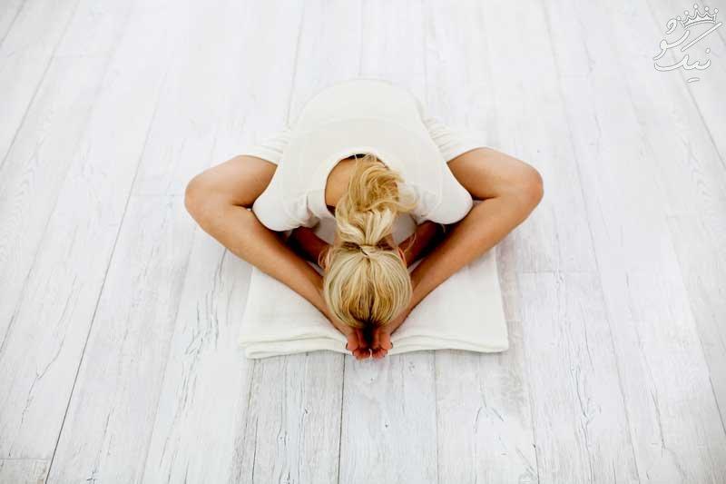 معرفی 5 حرکت یوگا برای آرامش و دوری از استرس