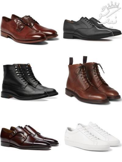 اصول ست کردن جوراب با کفش مردانه