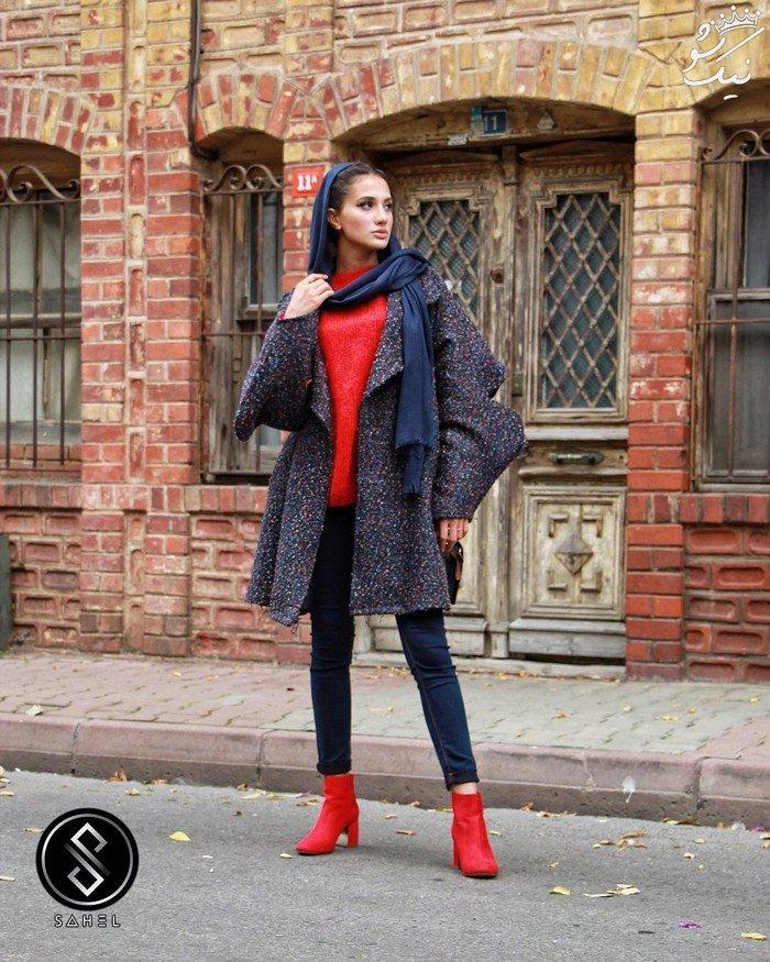 مدل های مانتو کوتاه و بلند بهاری برند sahel