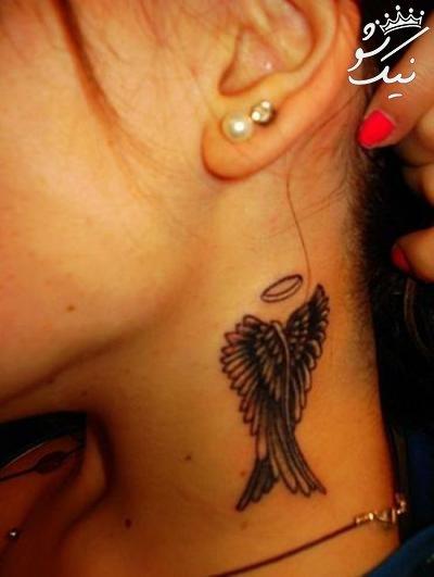طرح های تتو و خالکوبی دخترانه روی دست و پا و بدن