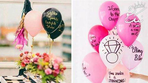 مدل های شیک تزیین تولد با بادکنک واقعا زیبا