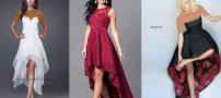 مدل لباس مجلسی پشت بلند برای خوش استایل ها