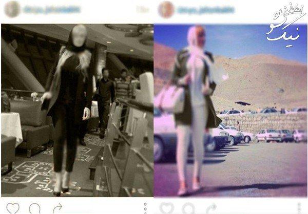 استخدام دختران مانکن و خوش اندام ایرانی در نمایشگاه ها +عکس