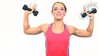 بهترین تمرین ها برای داشتن بازوهای زیبا و اندامی