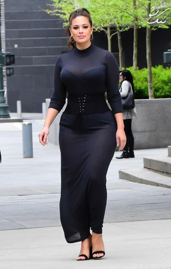 عکسهای اشلی گراهام Ashley Graham مدلینگ سایز بزرگ