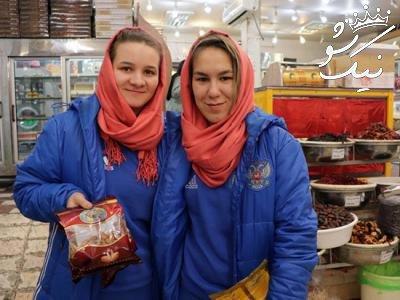 عکس های مسابقه فوتسال زنان ایران و روسیه