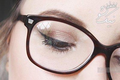 بهترین ترفندهای آرایش برای خانم های عینکی